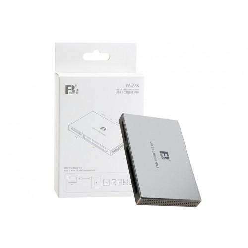 Картридер FB-886 USB 3.0 Metal