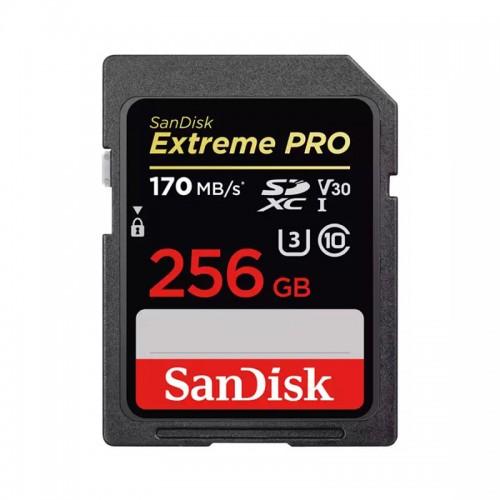 Карта памяти SD 256Gb SanDisk Extreme PRO UHS-II 170Mb/s