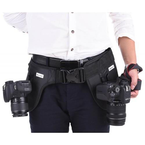 Поясной ремень MICNOVA MQ-WB02 для двух камер