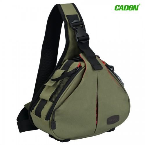 Сумка слинг Caden K1 Зеленая