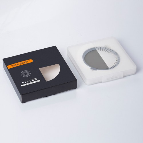 Светофильтр K&F Concept 58mm ND2-ND400 Variable