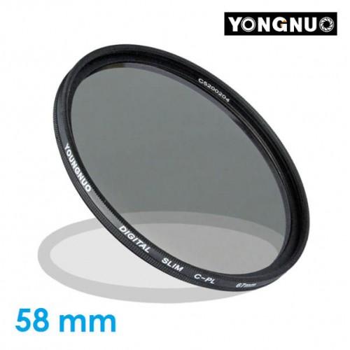 Светофильтр для Объектива Yongnuo CPL 58mm