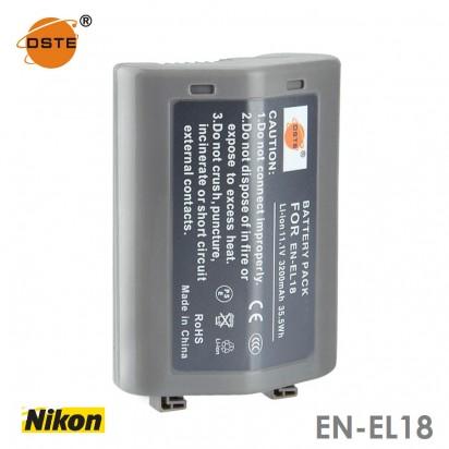 Аккумулятор DSTE EN-EL18 Nikon D4 D4S D800