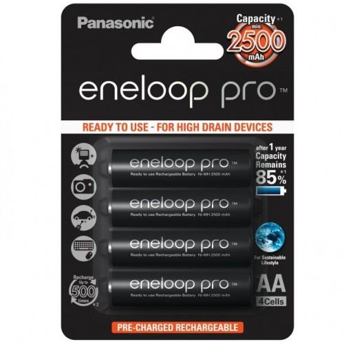 Аккумуляторы Panasonic Eneloop PRO 2500 mah