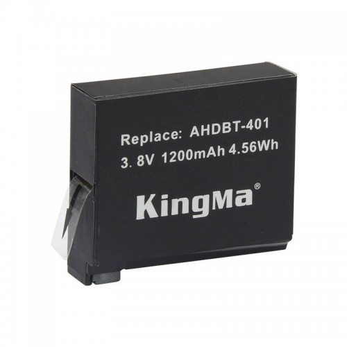 Аккумулятор KingMa для Gopro Hero 4 1200mAh