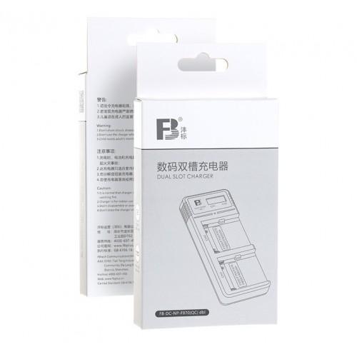 Зарядное FB DC-F970(QC) Dual LCD