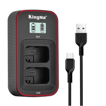 Зарядное Устройство KINGMA NP-FW50 Sony Dual