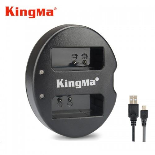 Зарядка KingMa LP-E10 Canon двухканальная