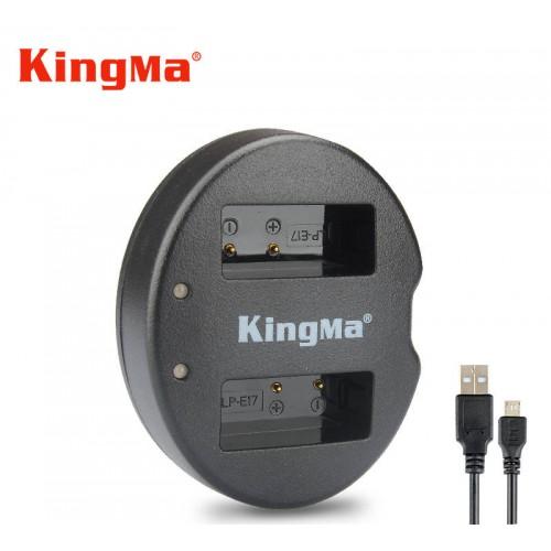 Зарядка KingMa LP-E17 Canon двухканальная