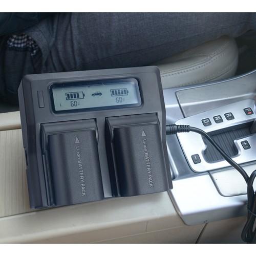 Зарядное устройство двухканальное Kingma NP-FZ100 SONY
