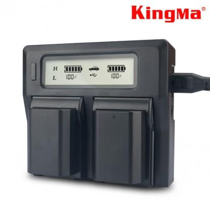 Зарядное устройство Kingma LP-E6 PRO Canon
