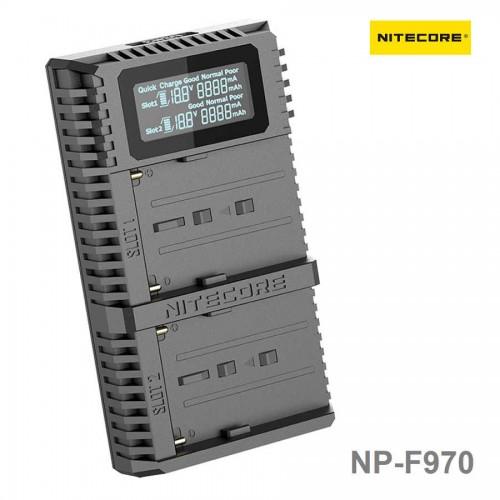 Зарядное устройство NITECORE USN3 PRO Sony NP-F