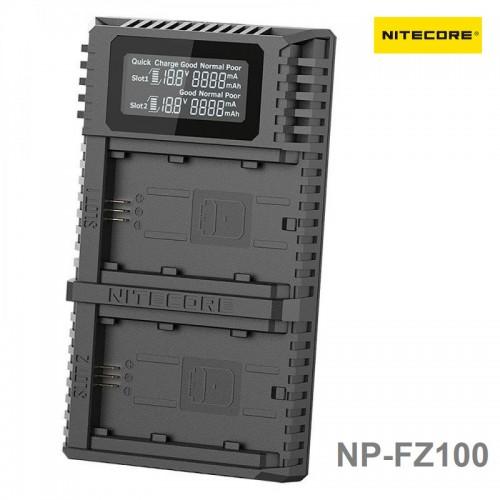 Зарядное устройство NITECORE USN4 PRO Sony NP-FZ100