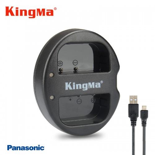 Зарядка Kingma DMW-BLF19E USB PANASONIC GH5 GH4