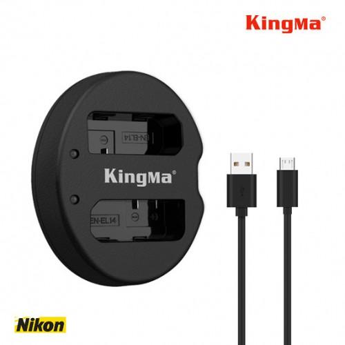 Зарядка Kingma EN-EL14 USB Nikon