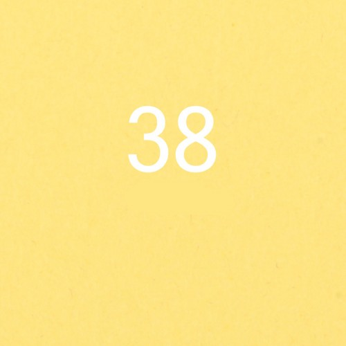 Фон бумажный Savage Canary 38 Желтый