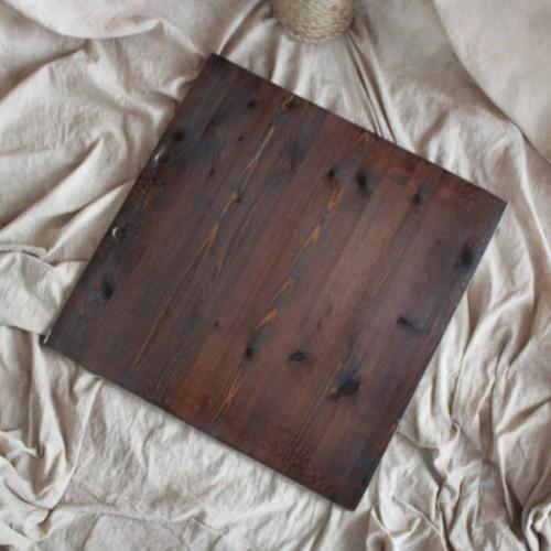 Фон деревянный 60x60 cm Орех Белый