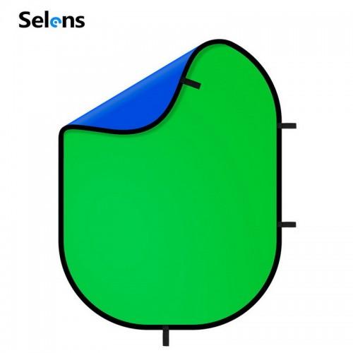 Фон хромакей складной SELENS 150х200 см