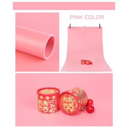 Фон PVC розовый матовый 150х200 см