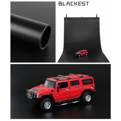 Фон виниловый черный матовый 70х140 см