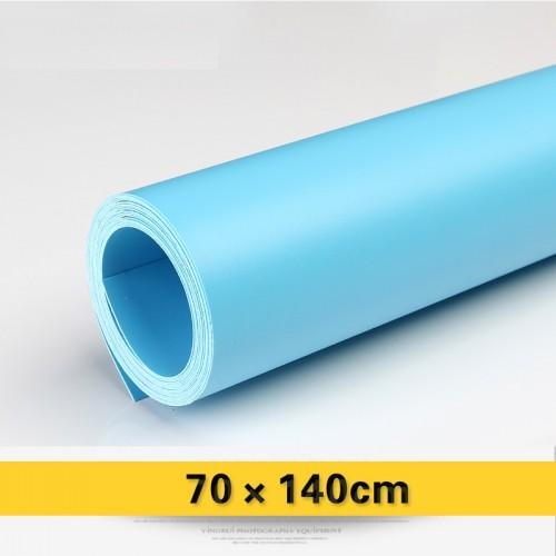 Фон виниловый голубой матовый 70х140 см
