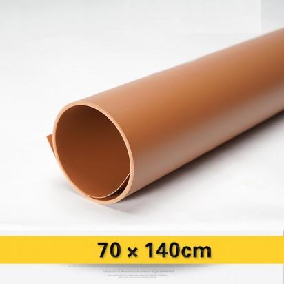 Фон PVC коричневый матовый 70х140 см