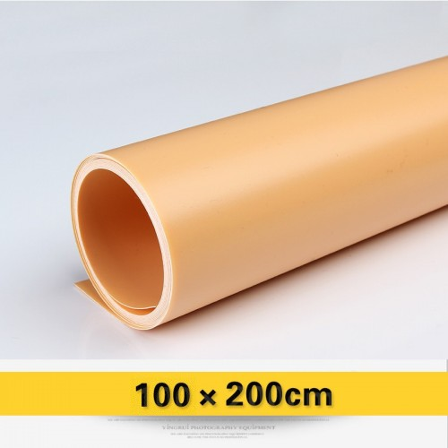 Фон PVC коралловый матовый 100х200 см