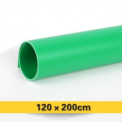Фон PVC Зеленый матовый 120х200 см