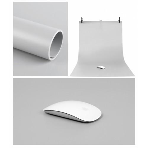 Фон виниловый серый матовый 70х140 см