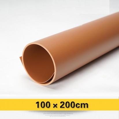 Фон PVC коричневый матовый 100х200 см