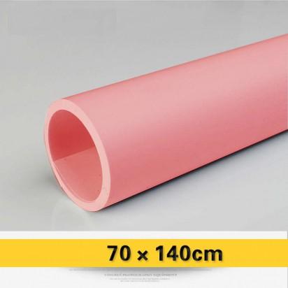 Фон виниловый розовый матовый 70х140 см