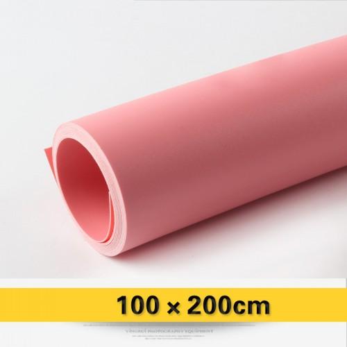 Фон виниловый розовый матовый 100х200 см