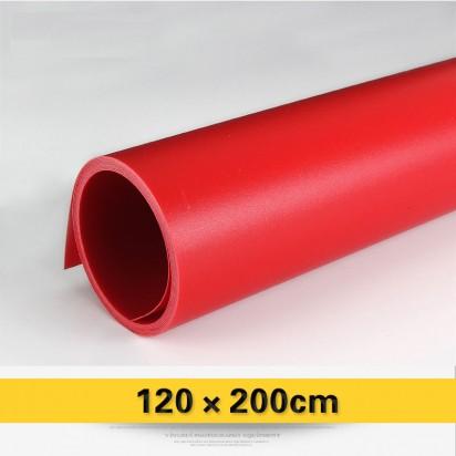 Фон виниловый красный матовый 120х200 см