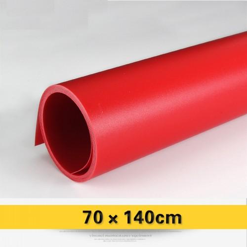 Фон виниловый красный матовый 70х140 см