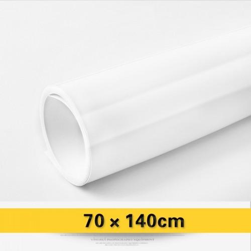 Фон виниловый белый глянцевый 70х140 см