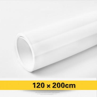 Фон виниловый белый глянцевый 120х200 см