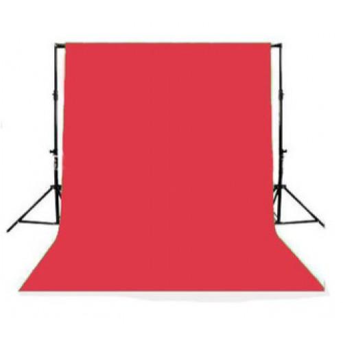 Фон тканевый Красный Polyster Pro 6x3 метра