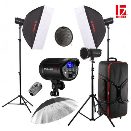 Комплект JINBEI Spark 400D kit3