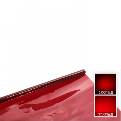 Гелевый фильтр Красный 80x100 cm