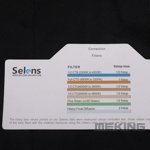 Гелевые фильтры SELENS для вспышки