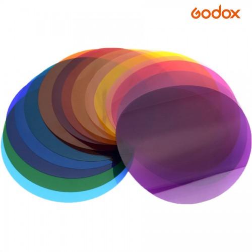Набор Цветных Фильтров Godox V-11C