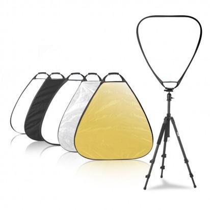 Отражатель Selens 5в1 треугольный 80см