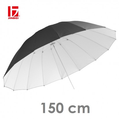 Фотозонт JINBEI черный с белым 150 см