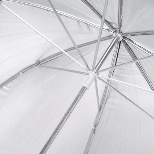 Зонт серебро на отражение 110см