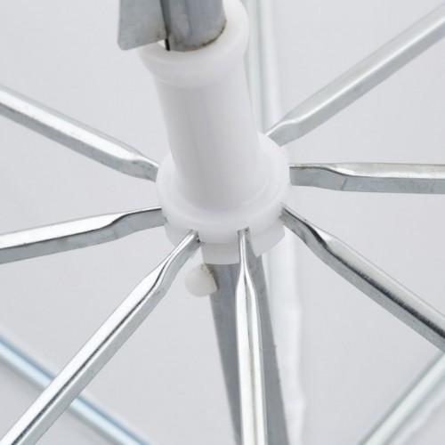 Зонт белый на просвет 84см