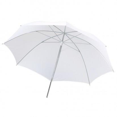 Зонт белый на просвет 104см