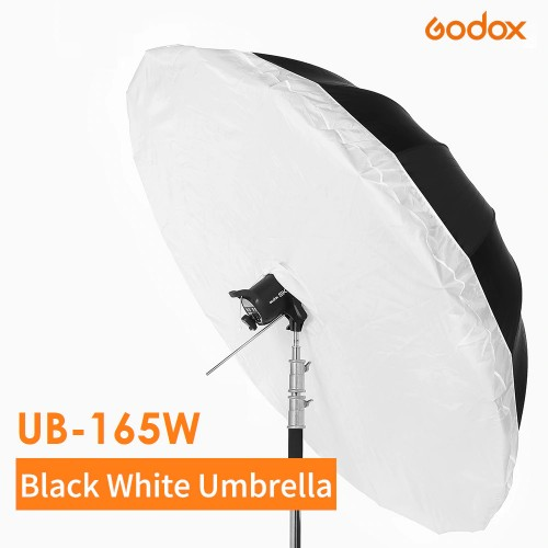 Зонт GODOX UB-165W белый черный с диффузором