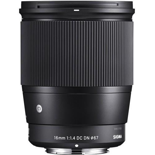 Объектив SIGMA 16mm f/1.4 DC DN Contemporary Sony E