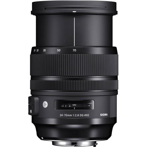 Объектив SIGMA 24-70mm f2.8 DG OS HSM Art Canon