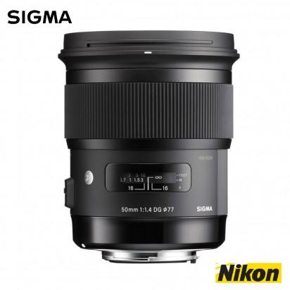 Объектив SIGMA 50mm f1.4 DG HSM Art Nikon